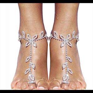 Barefoot Sandal foot chain for Women